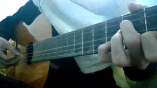 Nụ hôn và nước mắt guitar cover