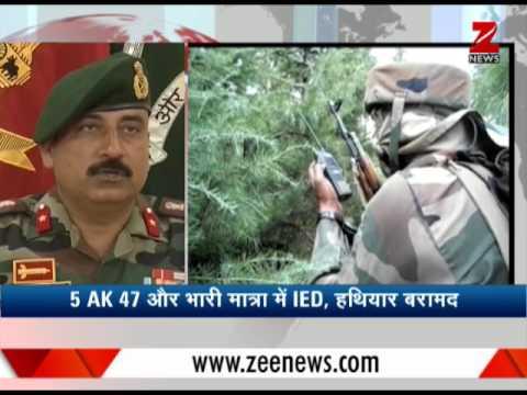 5 terrorists dead in 3 day search operation in Uri|उरी में 3 दिन के सर्च ऑपरेशन में 5 आतंकवादी मारे