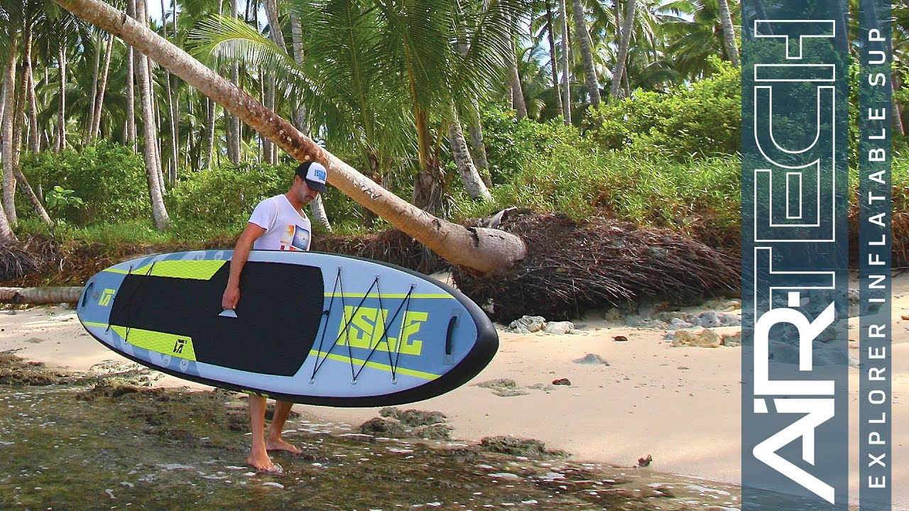 ISLE Explorer Inflatable Paddle Board Review - YouTube 7d3cd2643c3f