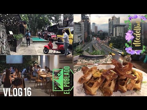 EXPLORING EL POBLADO 🌴Medellin Colombia // Vlog 16 // Travel to Bogotá Day // Add me on Snapchat