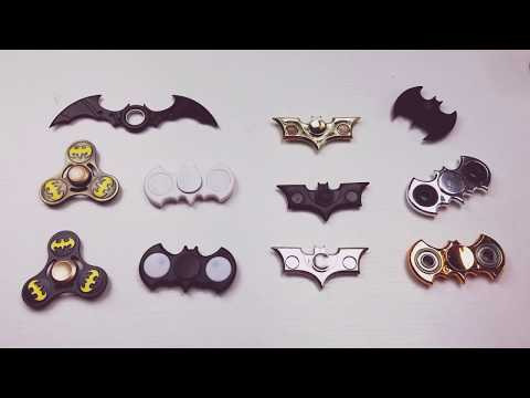 Batman Fidget Spinner Collection- Pick your Favorite!