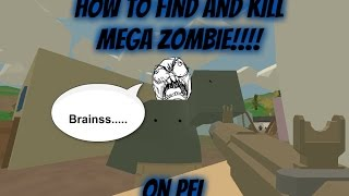 Unturned: How to find and kill Mega Zombie