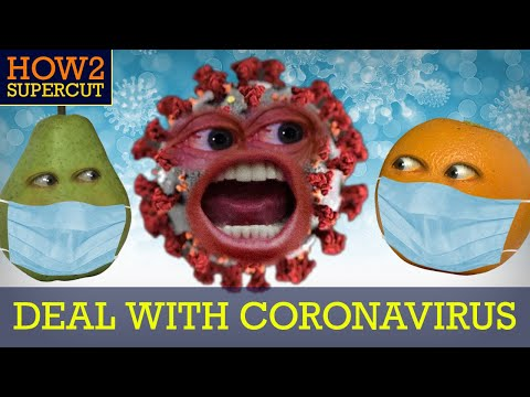 Annoying Orange - How2 Deal with the Coronavirus