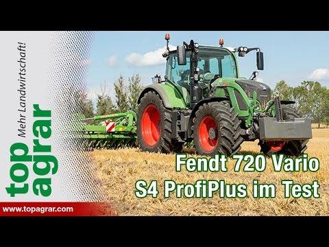 Fendt 720 Vario S4 ProfiPlus im top agrar-Praxistest