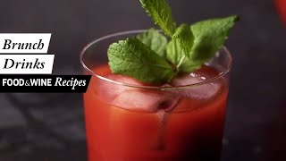 5 Boozy Brunch Cocktail Recipes | Food & Wine Recipes