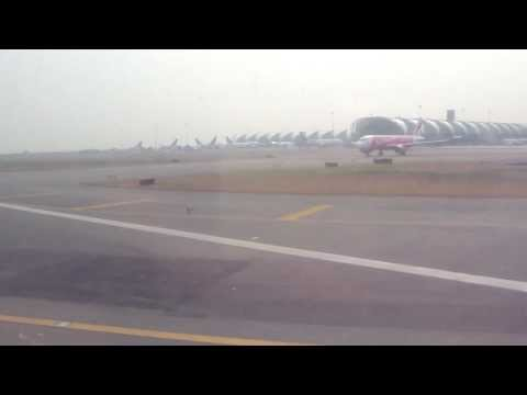 Orient Thai Airlines MD-80s Take Off From Bangkok Suvarnabhumi Airport
