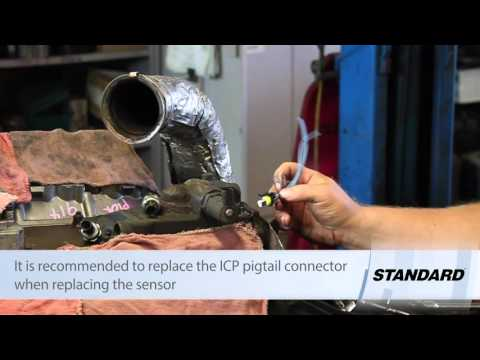 Ford 6.0L Powerstroke Injection Control Pressure (ICP) Sensor Replacement