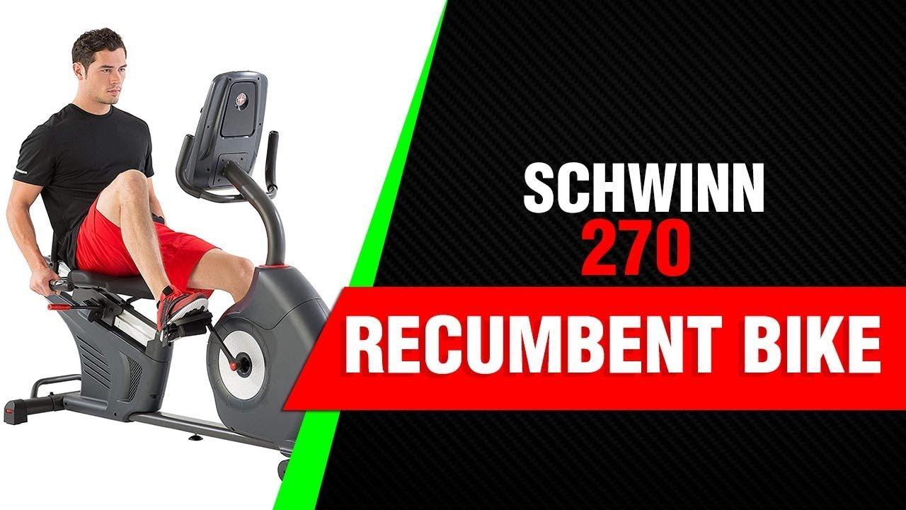 Schwinn 270 Recumbent Bike Review 2019 Review Youtube