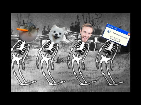 Spooky Scary Skeletons - Meme Cover
