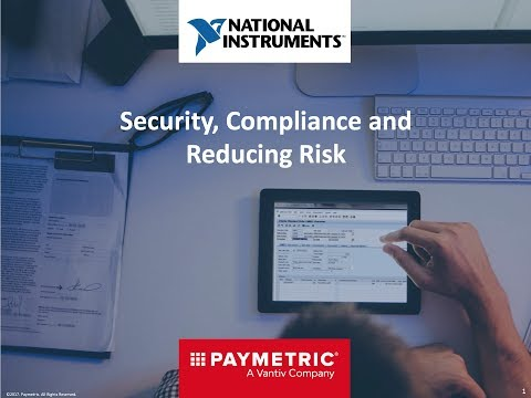 Security, Compliance and Reducing Risk