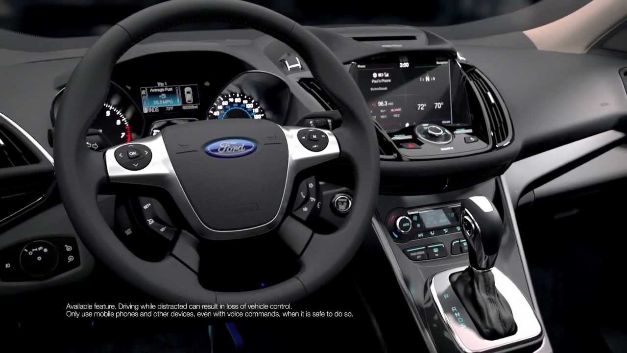 | 2013 Ford Kuga/Escape | Interior Design | Design Interior | - YouTube