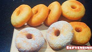 BÁNH DONUTS CÔNG THỨC BẤT BẠI. CÁCH LÀM BÁNH DONUTS NGON DỄ ÒM À How to make donuts . BẾP YÊN BÌNH