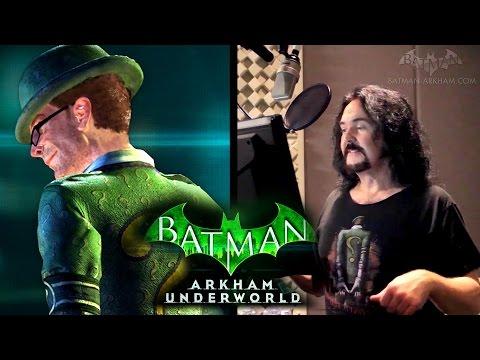 Batman: Arkham Underworld - The Voice of Riddler