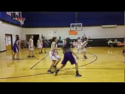 Elgin Middle School Vs Farley (Hutto) Middle School 7th Grade Girls Basketball 02/02/17