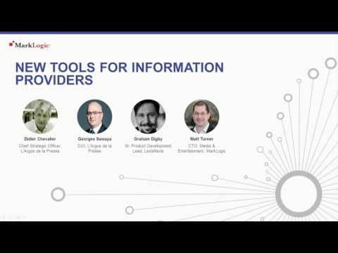 Customer Panel with L'Argus de la Presse and LexisNexis: New Tools for Information Providers