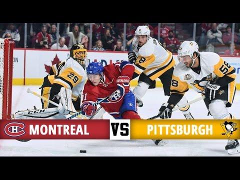 Montreal Canadiens Vs Pittsburgh Penguins Season Game 3