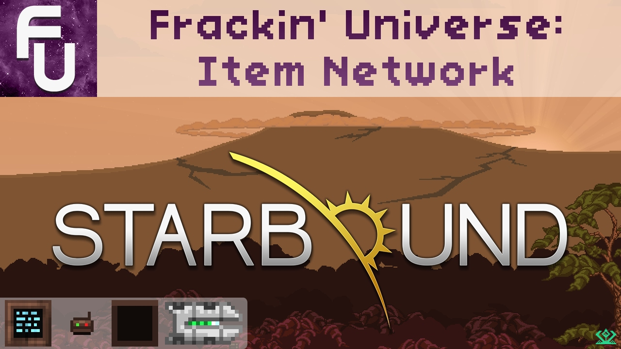 Starbound Frackin Universe Item Network Guide Youtube Wiring