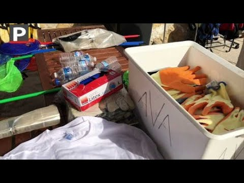 Marseille : opération grand nettoyage au Vallon des Auffes ce matin