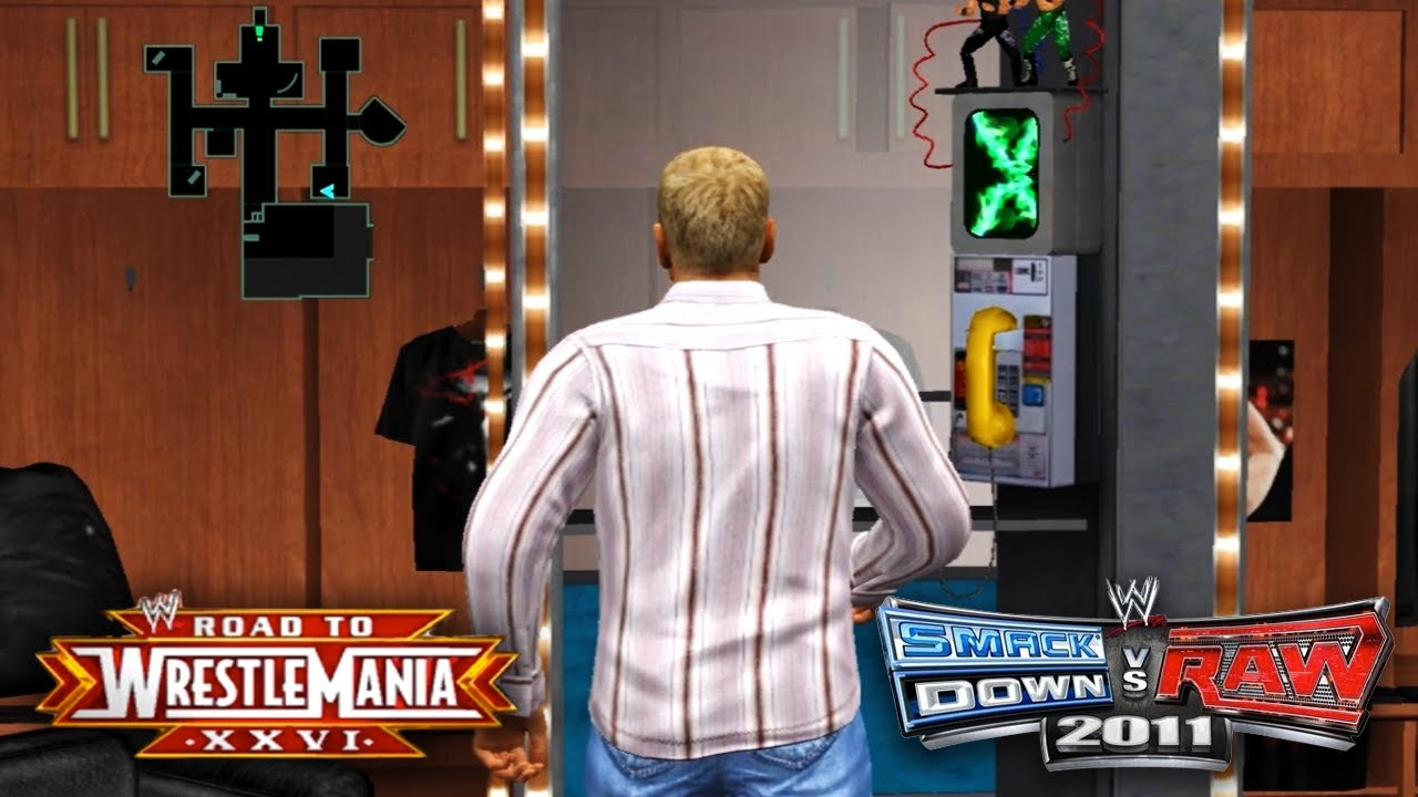 """WWE Smackdown vs Raw 2011 - """"BUILDING THE TIME MACHINE!!"""" (Road To ..."""