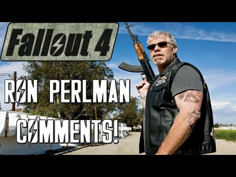 FALLOUT 4: Analyzing Ron Perlman's Comments On Future Fallout Games!