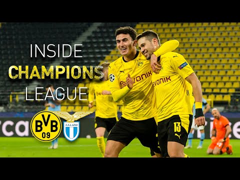 Der Einzug ins Achtelfinale! | BVB - Lazio Rom 1:1 | INSIDE Champions League