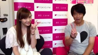 関東 TOKYO FM:朝のラジオは「クロノス」で! 中西哲生と高橋万里恵か...