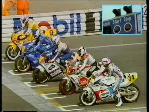 MotoGP - West German 500cc GP - Hockenheimring - 1989.