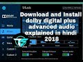 How To Download Amp Install Dolby Drivers On PC Simple Steps Download And Install HINDI mp3