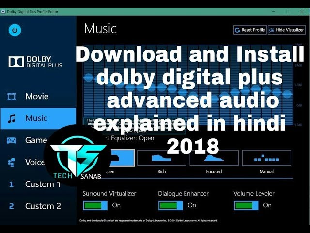 dolby digital sound effect software free download