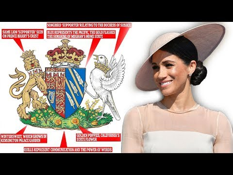 Palace informed details Coat of Arms created for Meghan - The Duchess of Sussex