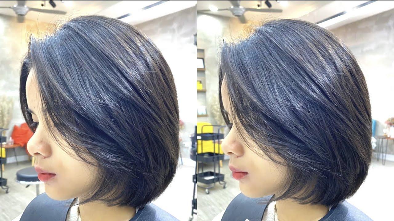 Layer Vuông dành cho học sinh cấp 2 siêu xinh ! LinhBlack hairsalon 0778 355 945 | Tóm tắt những nội dung liên quan kiểu tóc đẹp cho học sinh nữ cấp 2 đúng nhất