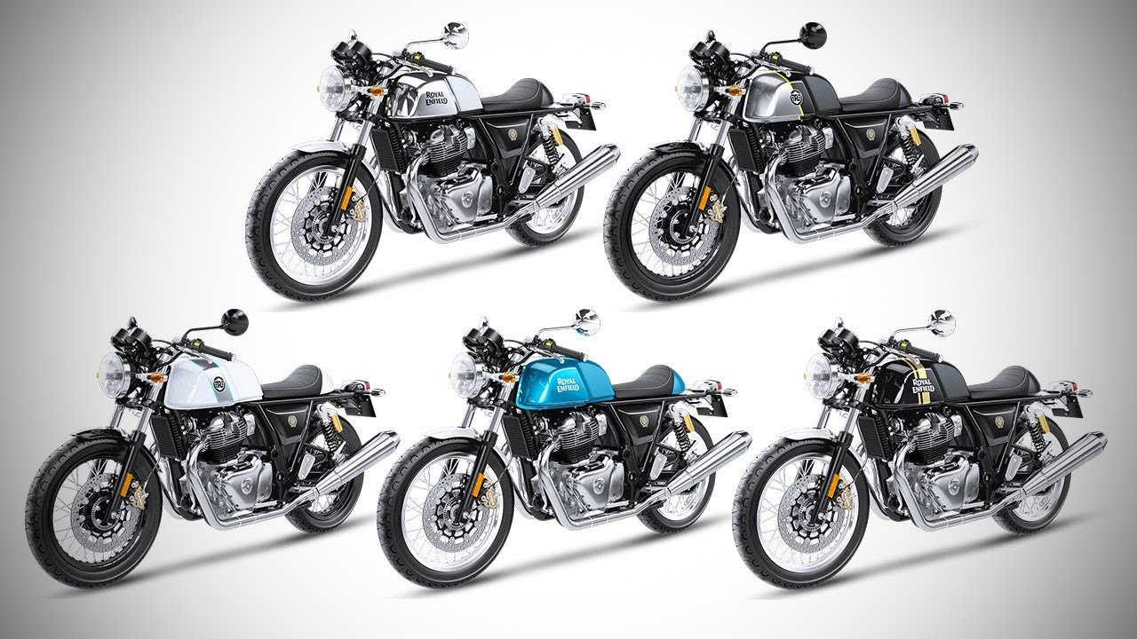 2018 Royal Enfield Continental Gt 650 All Colour Options Images