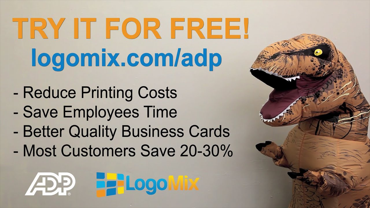 Business Cards Made Easy: LogoMix Business Card App for ADP ...