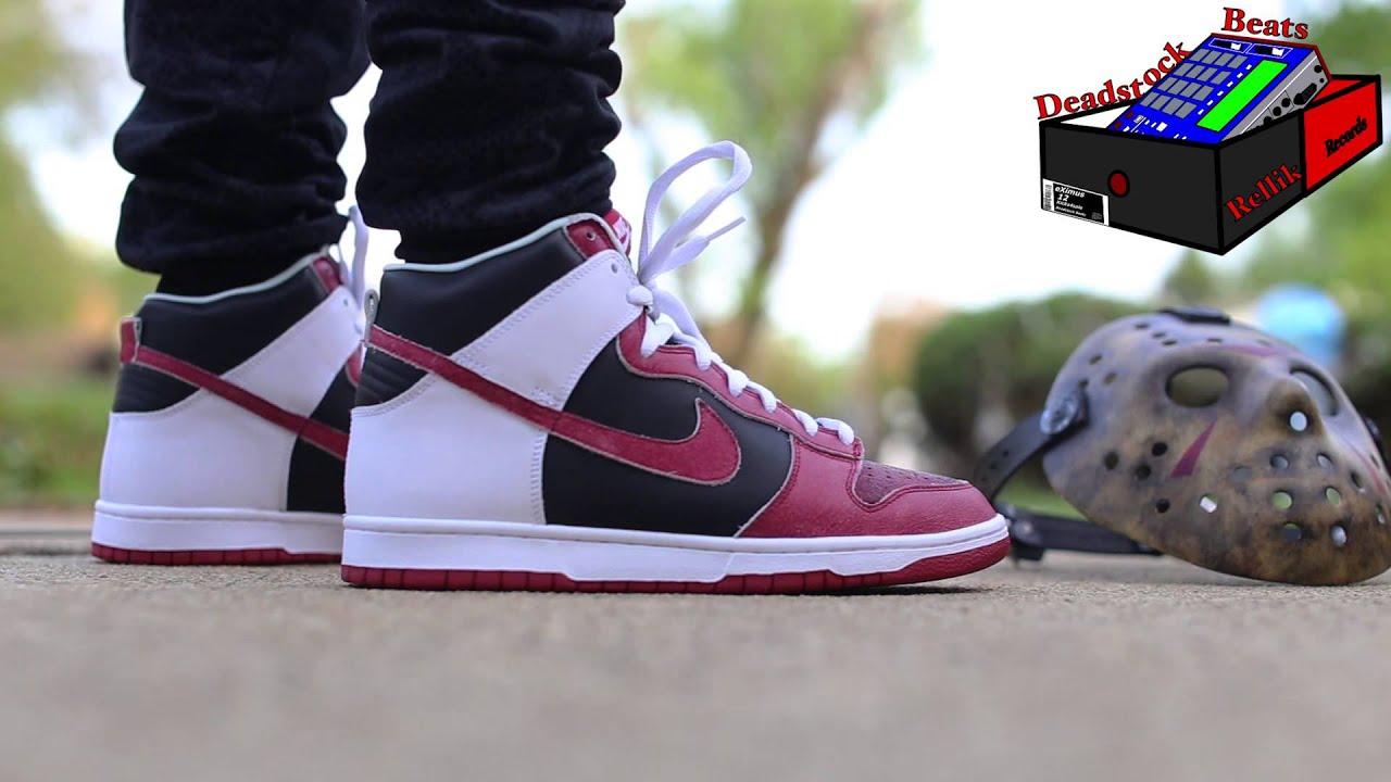 Nike DUNK HIGH PRO SB JASON VOORHEES On
