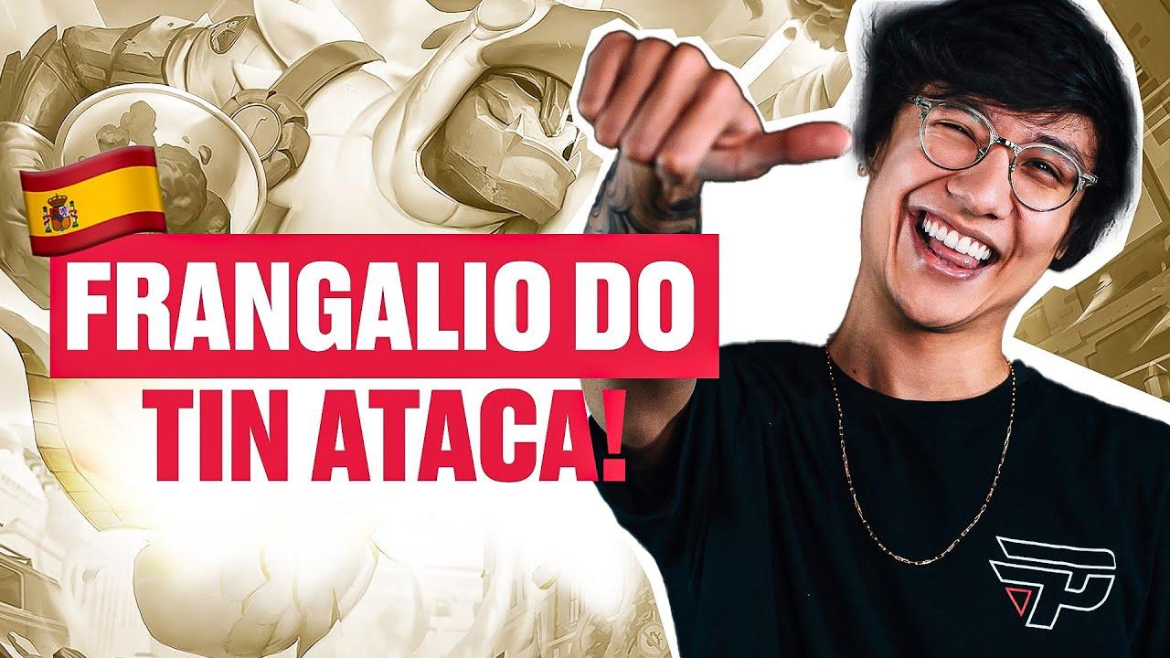 FRANGALIO DO TIN ATACA NOVAMENTE! - BOOTCAMP EUROPA