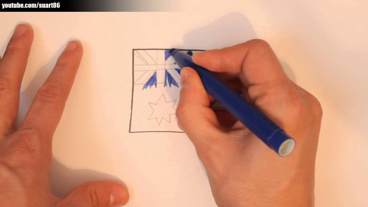 how to draw an australian flag youtube