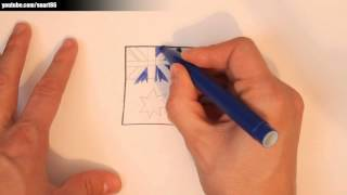 How to draw an australian flag