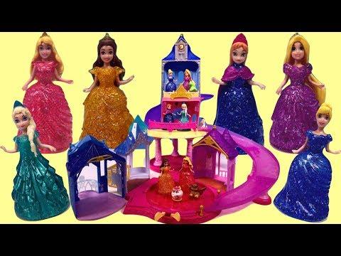 MagiClip Princess Palace Games with Addy and Maya !!!