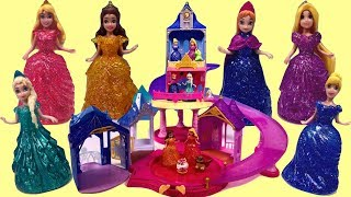 MagiClip Princess Palace Games with Addy and Maya !!!