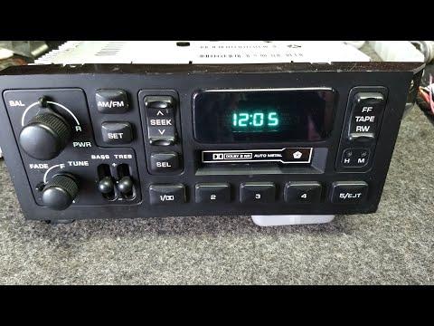 Estereo Radio AM FM Cassette Chrysler Spirit LeBaron Shadow New Yorker Voyager Oem Stereo