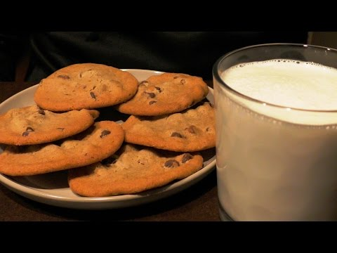 ASMR: Milk & Cookies 🍪 (No talking, Binaural)