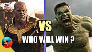 Thanos vs Hulk Battle in Avengers 4 | Explained in HINDI