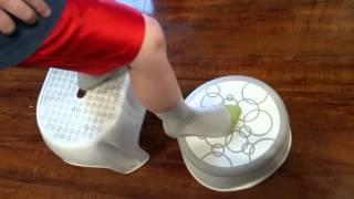 Ubbi step stool, grey