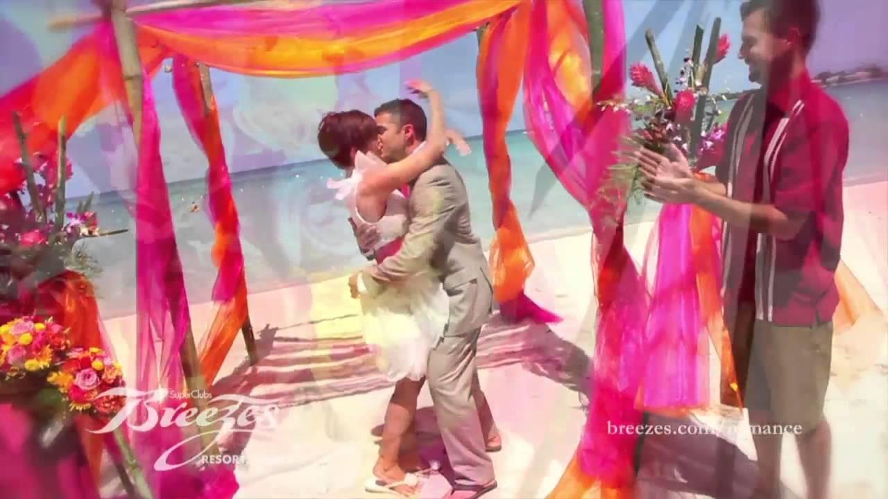 Dream Weddings by Breezes Bahamas - YouTube