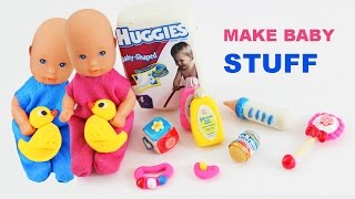 How to make doll baby items - Doll Crafts - simplekidscrafts