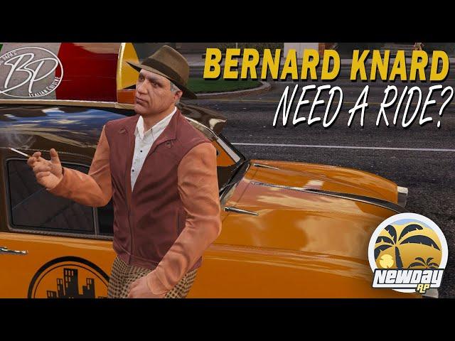Bernard Knard - Cabbie Training [GTA Roleplay - New Day RP] +SNKRX