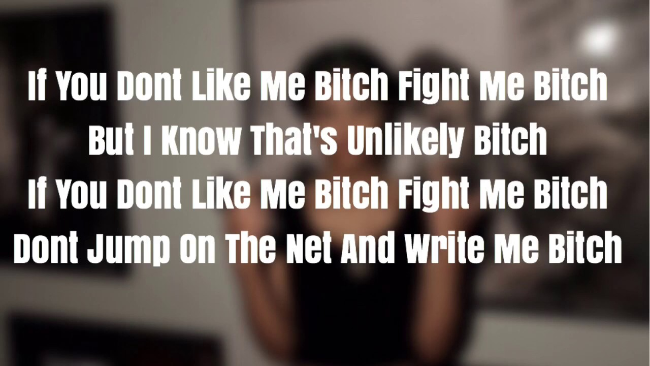 Fight Me (Lyrics)