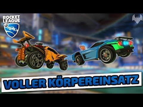 Voller Körpereinsatz - Rocket League - Deutsch German - Dhalucard thumbnail