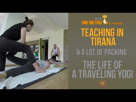 Life of a Traveling Yogi: Teaching in Tirana