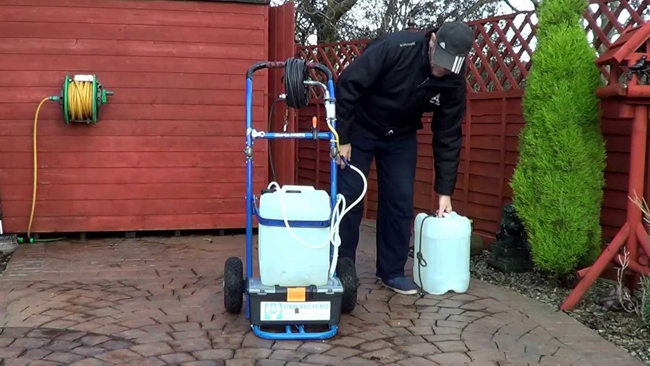 Window cleaning tips diy water fed pole trolley barrels youtube - Diy tips home window cleaning ...